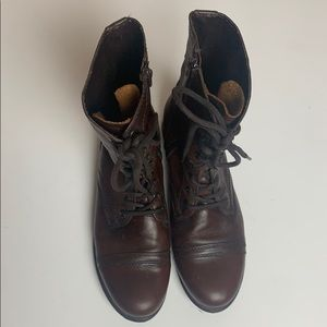 Steve Madden Troopa Zip Up Boots Size 10